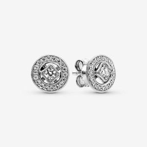 Pandora Vintage Circle Stud Earrings